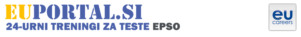 Treningi za teste EPSO